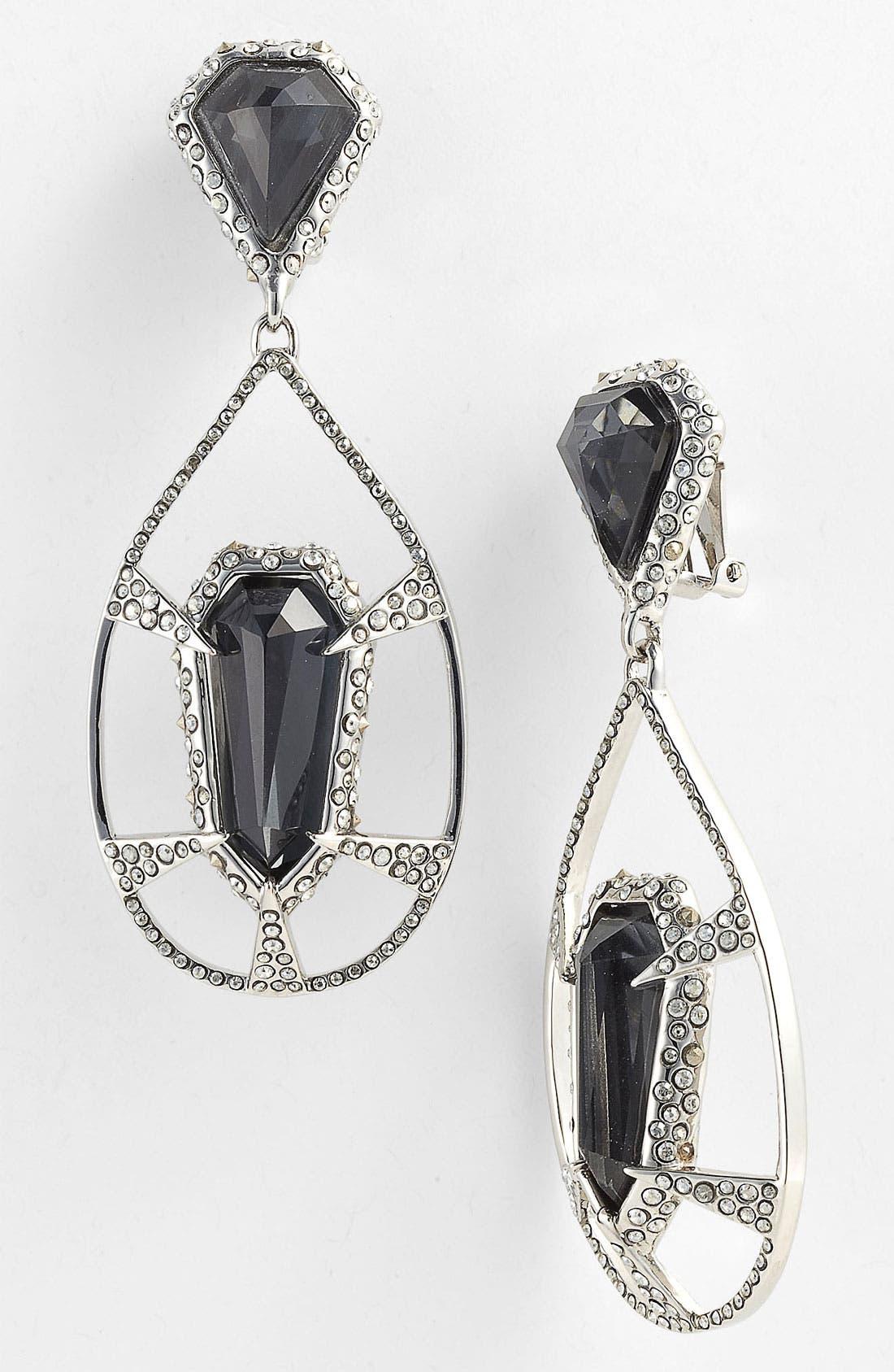 Alternate Image 1 Selected - Alexis Bittar 'Miss Havisham - Delano' Teardrop Clip Earrings