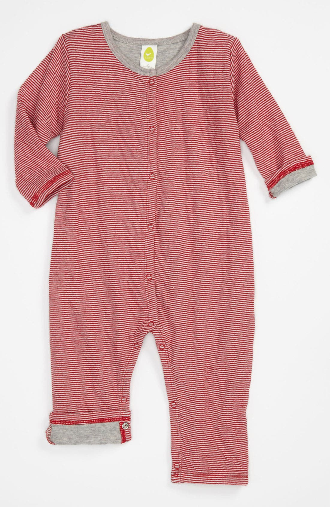Alternate Image 1 Selected - Stem Organic Cotton Romper (Infant)