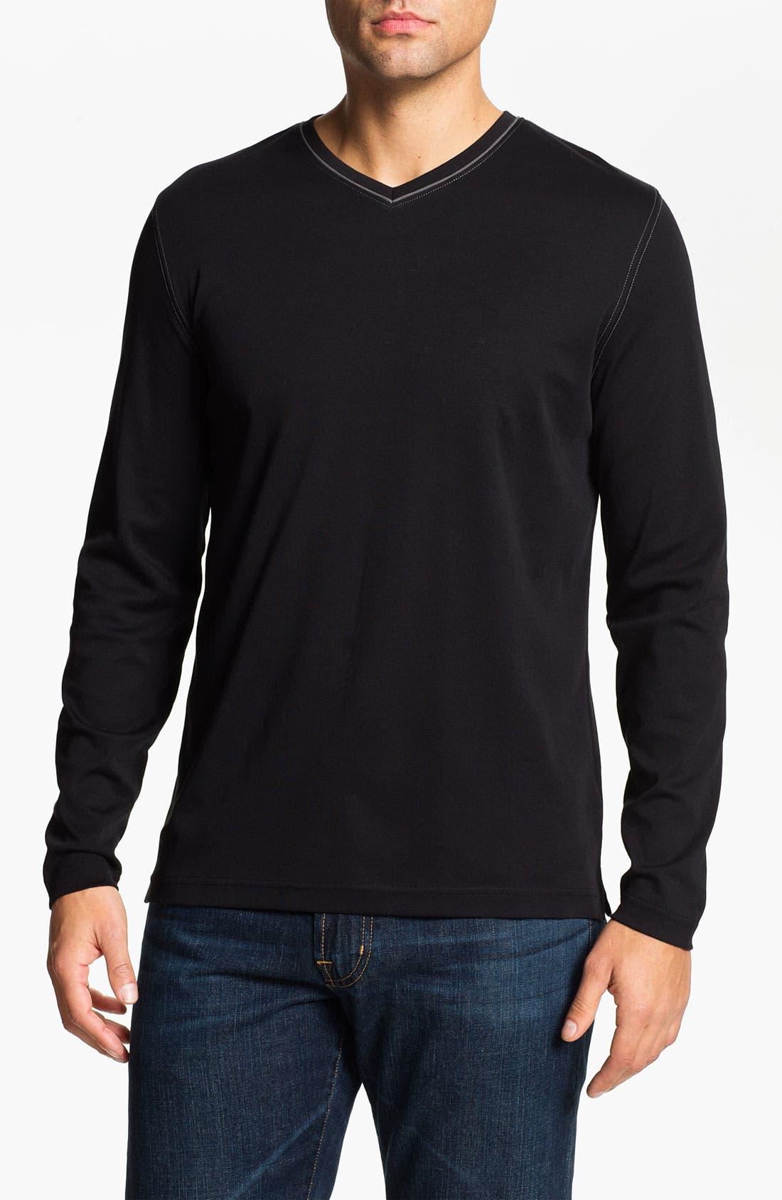 Main Image - Robert Barakett 'Georgia' V-Neck T-Shirt