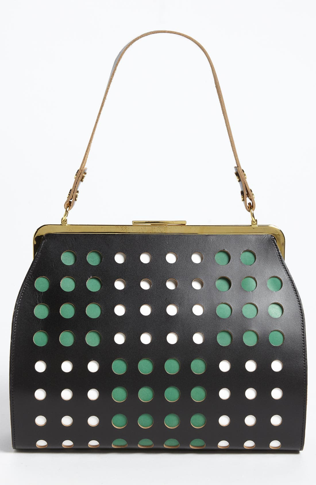 Alternate Image 4  - Marni Polka Dot Frame Handbag