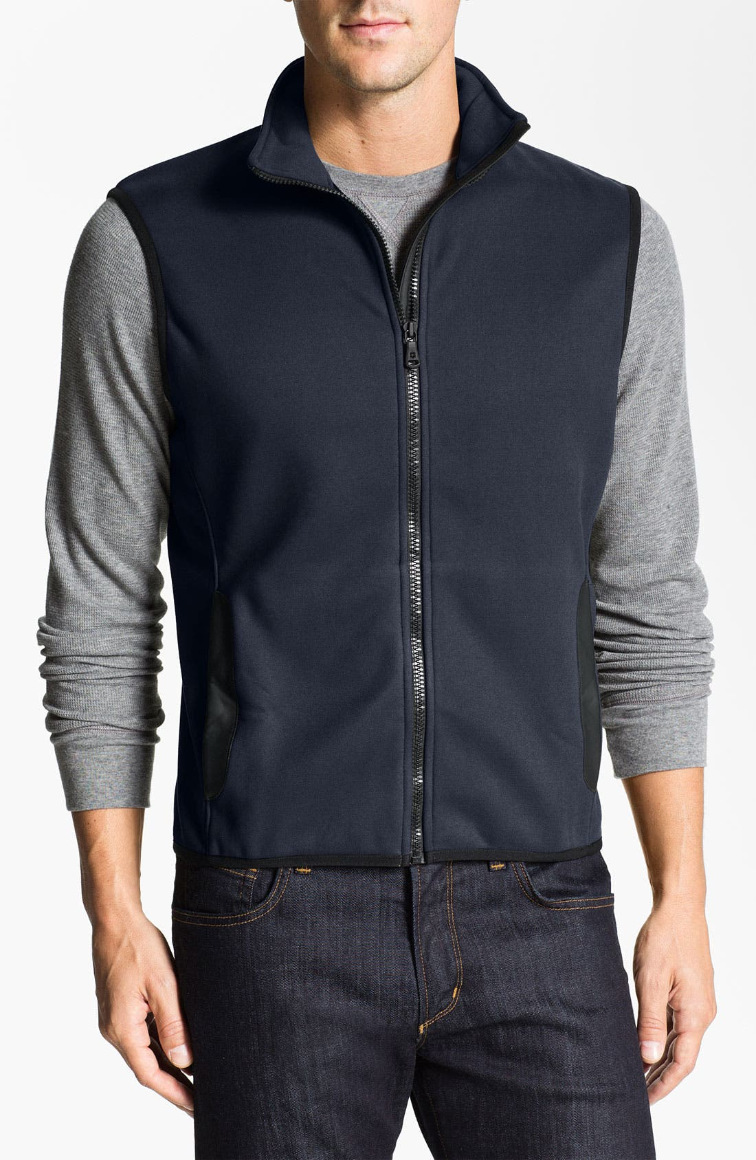 Alternate Image 1 Selected - Victorinox Swiss Army® 'Base' Fleece Vest (Online Exclusive)