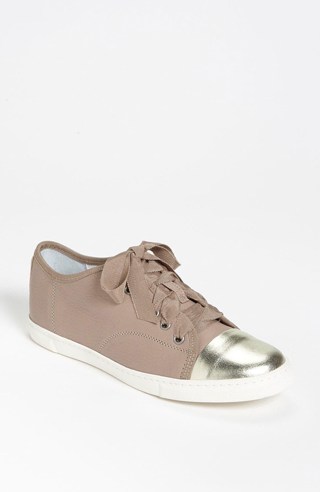 Alternate Image 1 Selected - Lanvin Cap Toe Sneaker