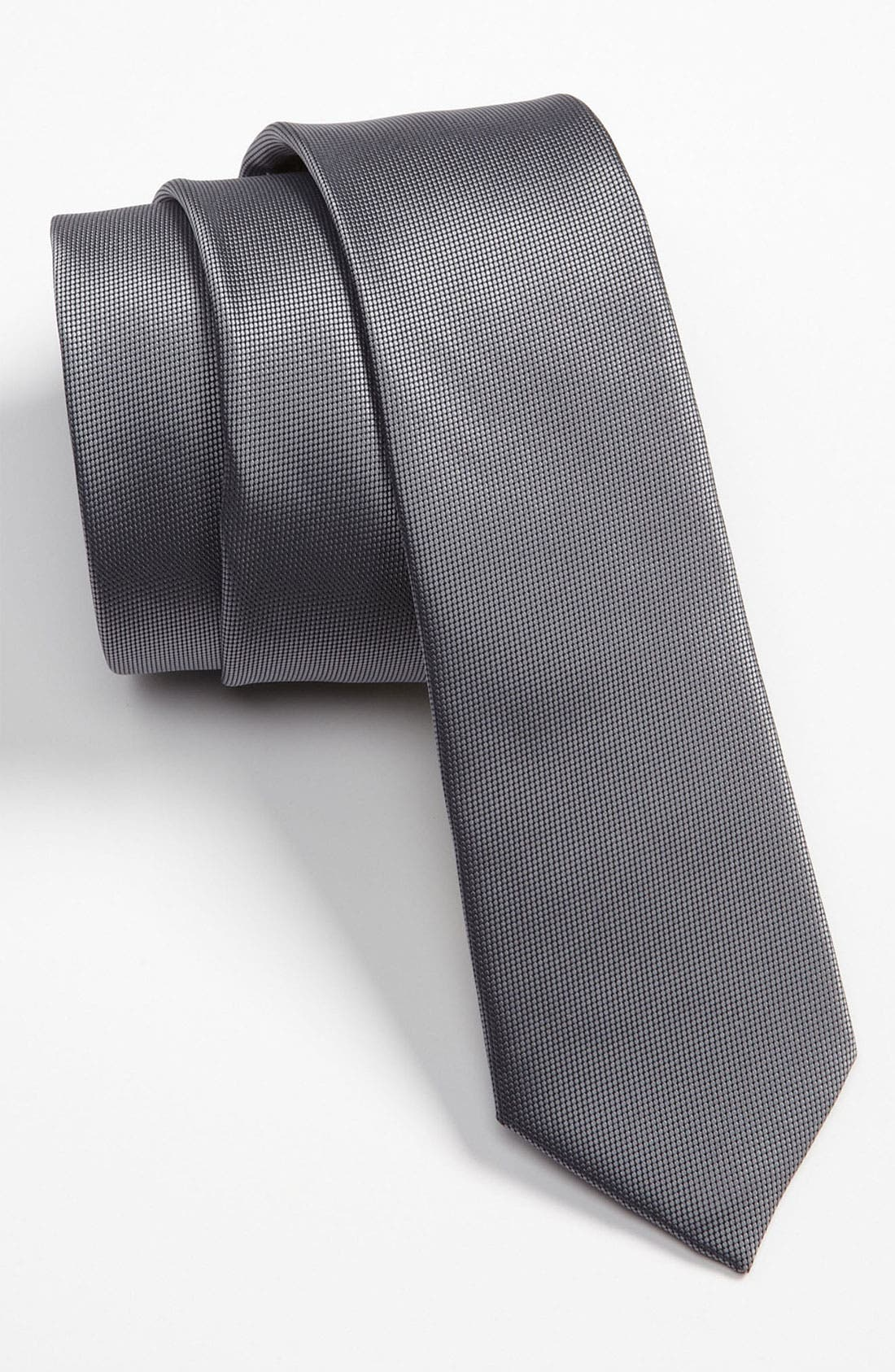 Alternate Image 1 Selected - Topman Narrow Textured Tie