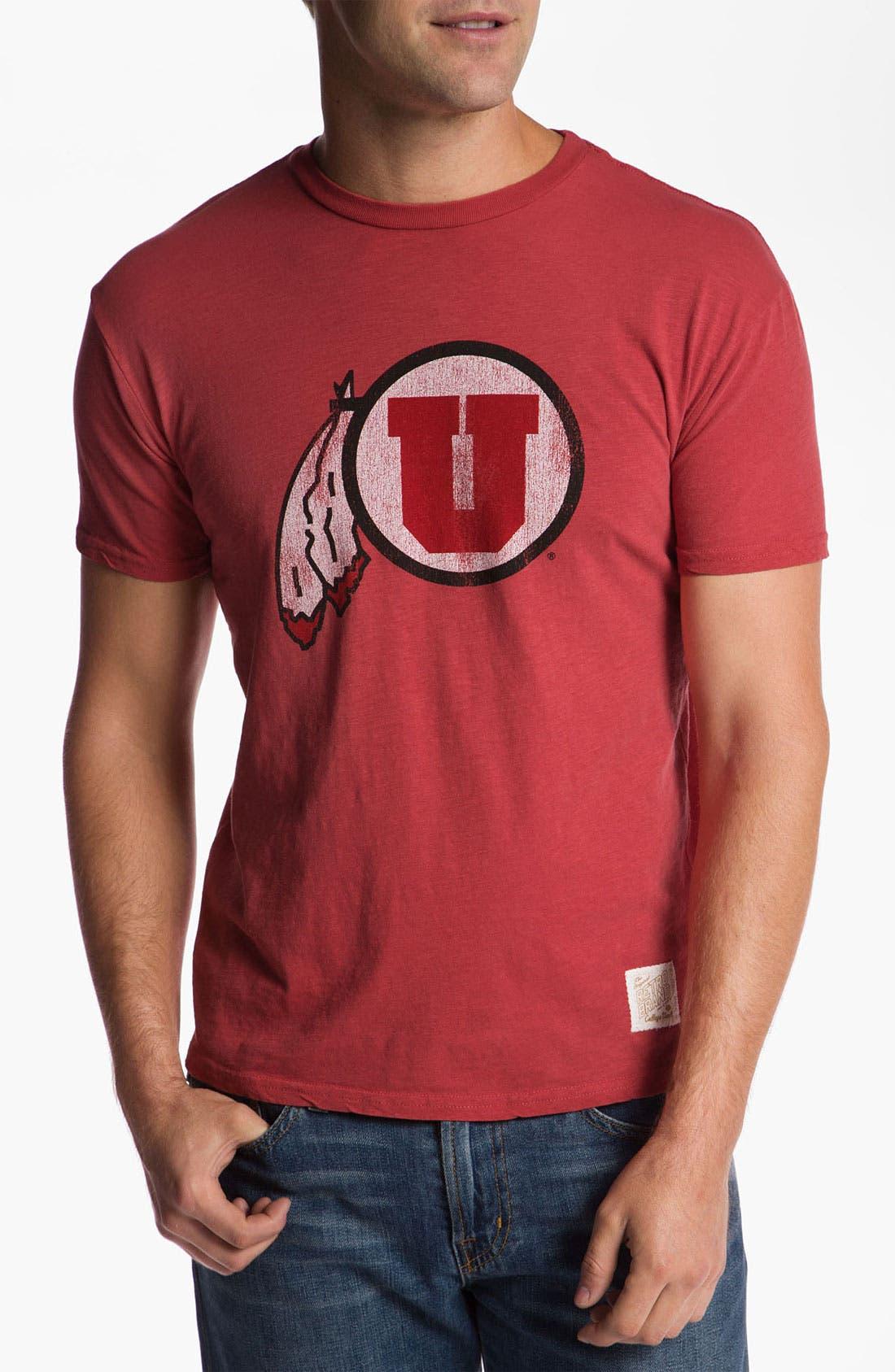 Main Image - The Original Retro Brand 'University of Utah' T-Shirt