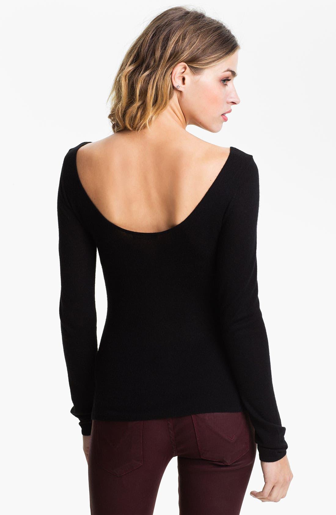 Alternate Image 2  - Hinge Lace Shadow Print Sweater
