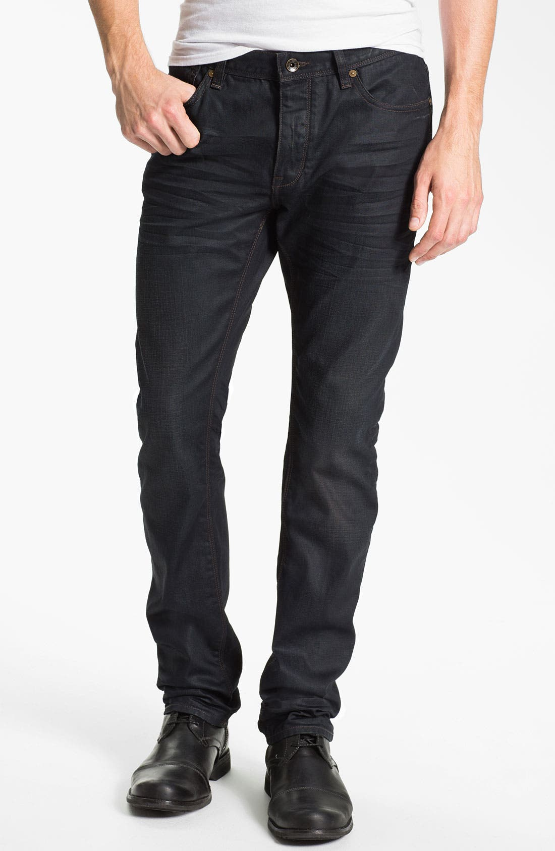 Alternate Image 1 Selected - John Varvatos Star USA 'Bowery Ardmore' Slim Straight Leg Jeans