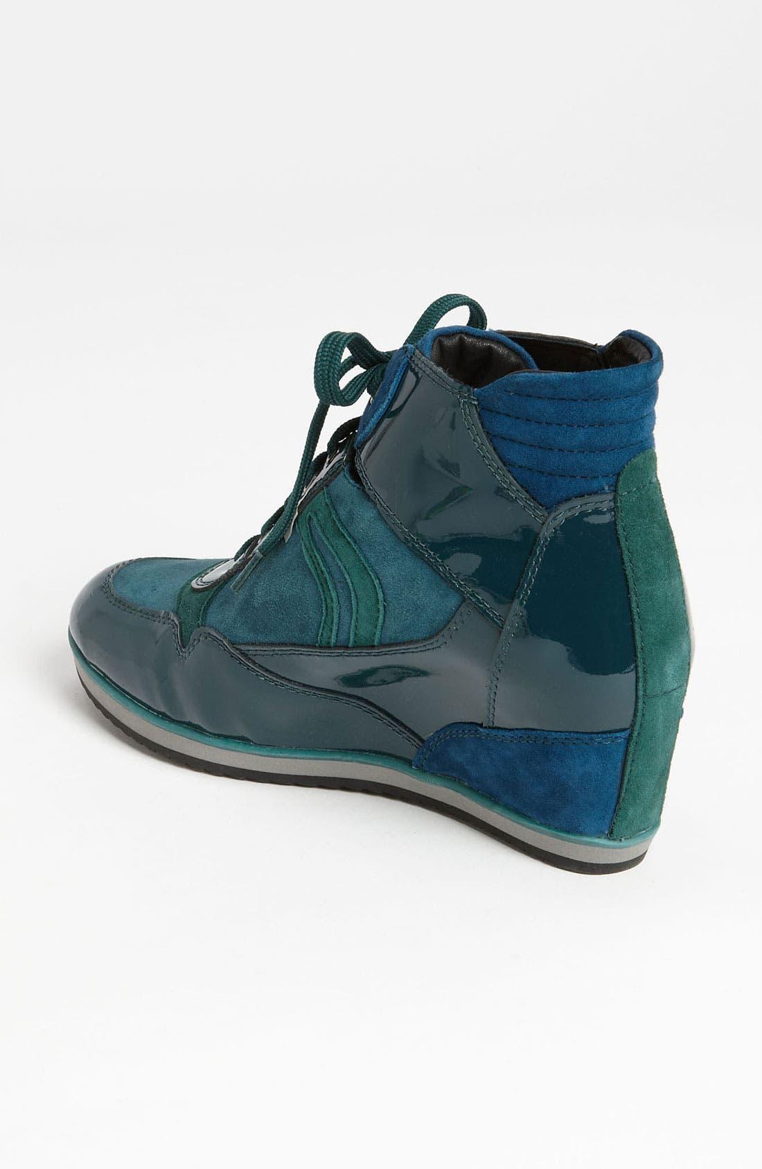 Alternate Image 2  - Geox 'D Illusion' High Top Wedge Sneaker