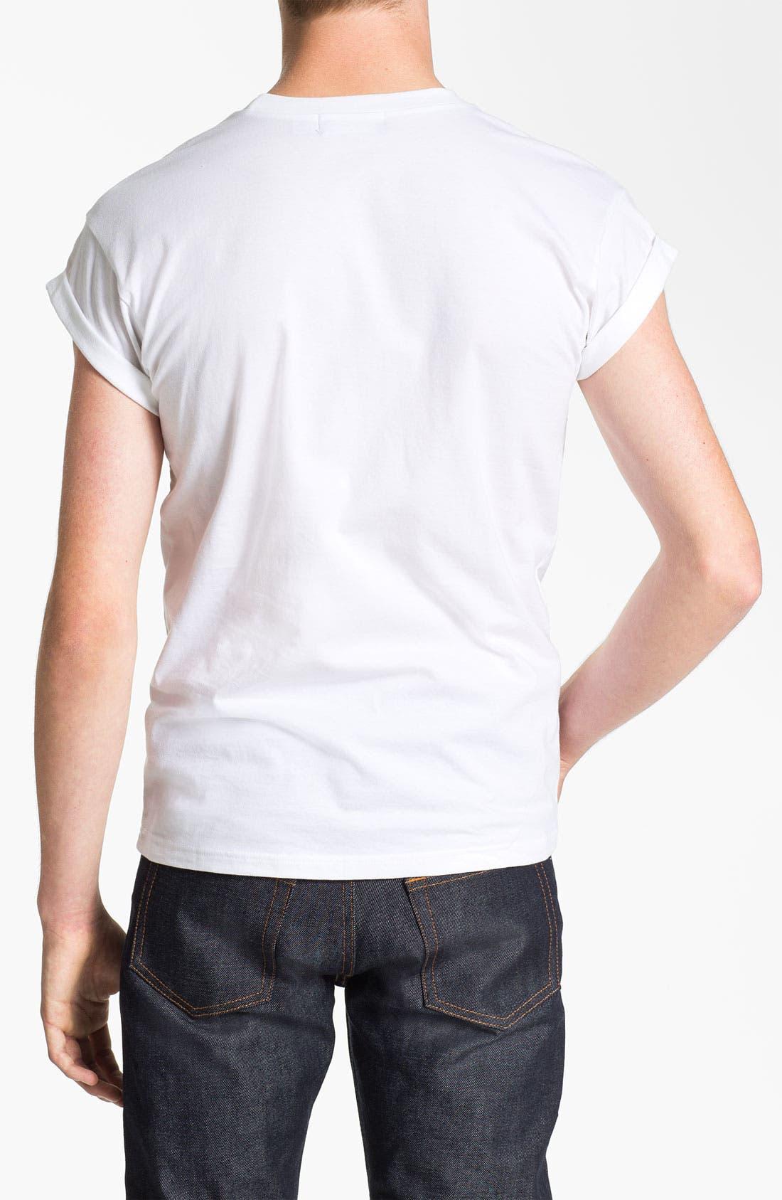 Alternate Image 2  - Topman 'High Roller - NYC Skyline' Graphic T-Shirt