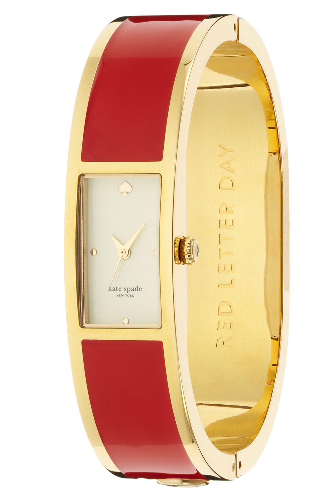 Alternate Image 1 Selected - kate spade new york 'carousel' bangle watch, 15mm x 16mm