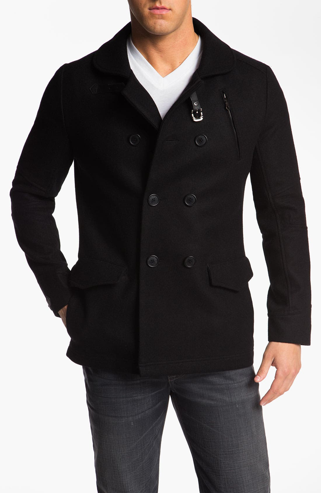 Main Image - Howe 'Rose Royce' Double Breasted Peacoat