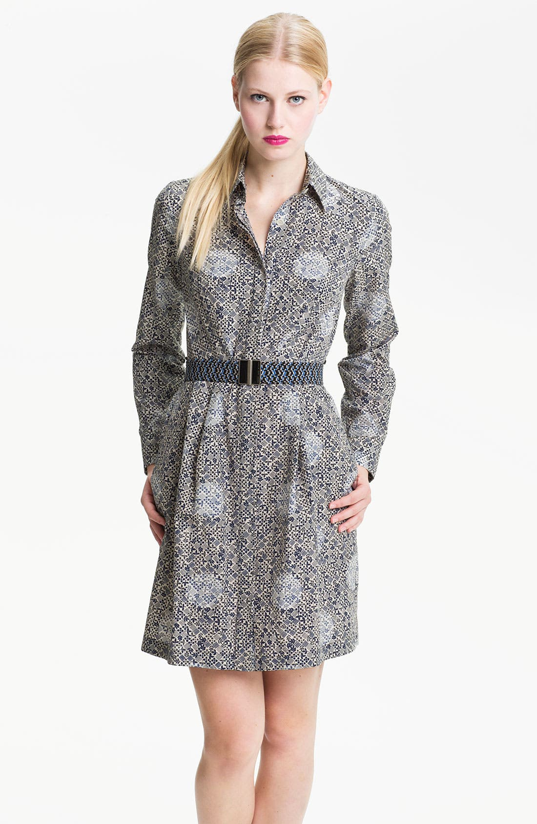 Alternate Image 1 Selected - MARC BY MARC JACOBS 'Jamie' Dot Print Shirtdress