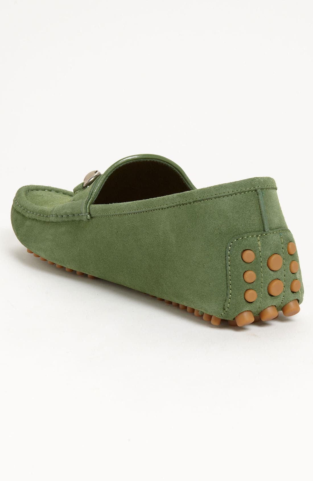 Alternate Image 2  - Gucci 'Damo' Suede Driving Shoe