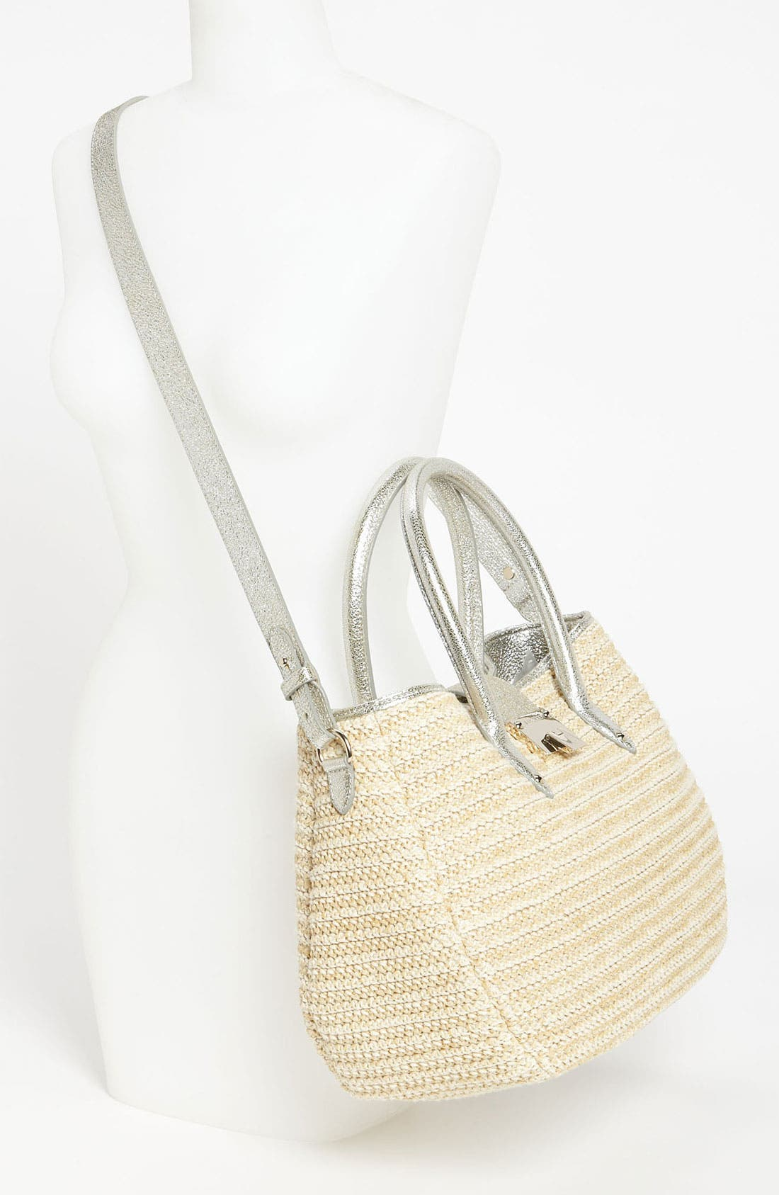 Alternate Image 2  - Jimmy Choo 'Rania' Raffia Tote
