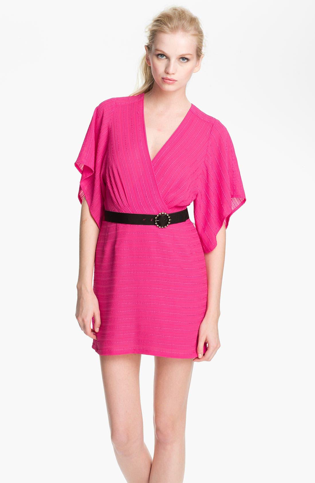 Main Image - Nanette Lepore 'Geisha Girl' Crepe Surplice Dress