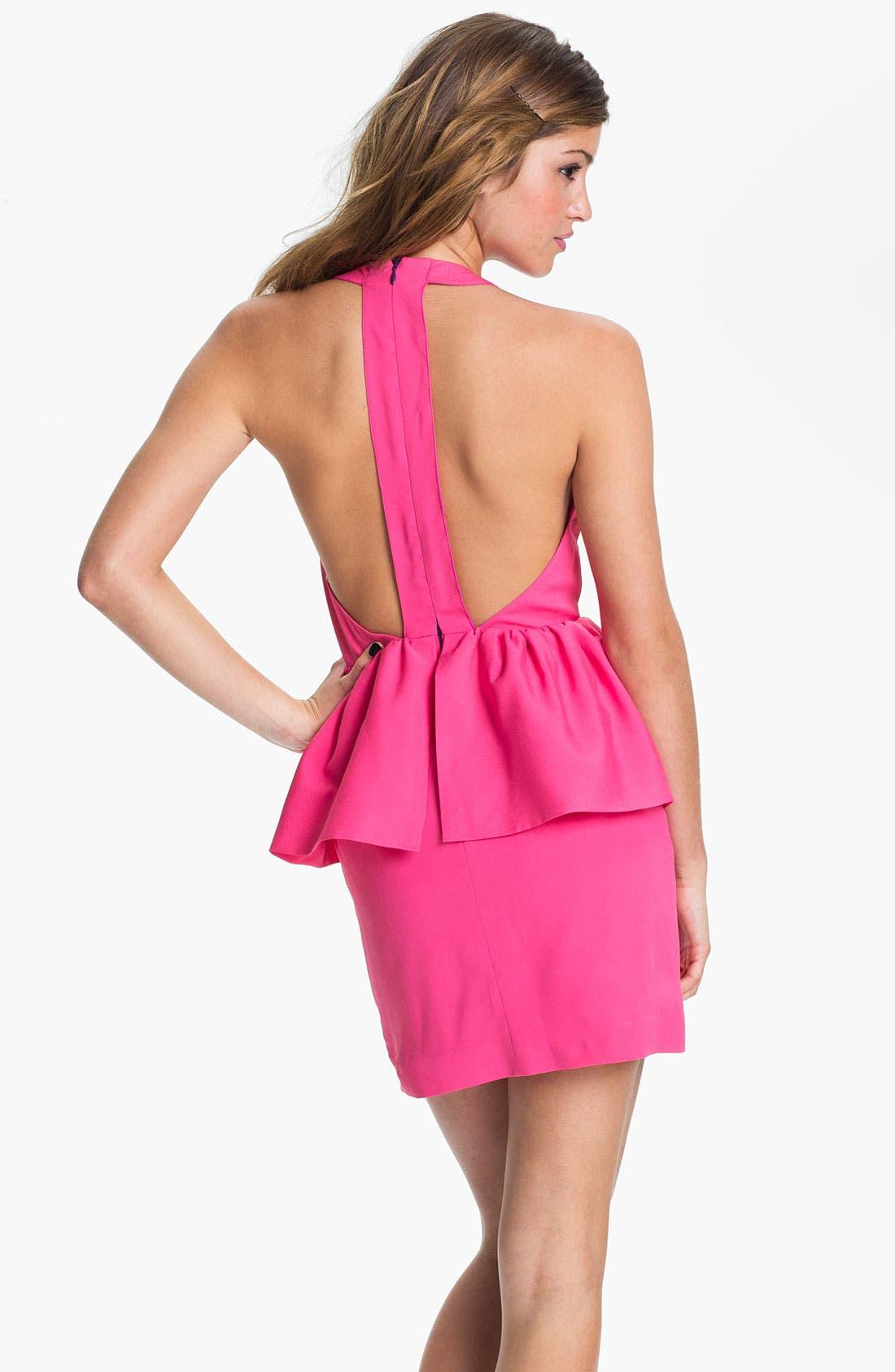 Alternate Image 2  - Keepsake the Label Open Back Peplum Dress
