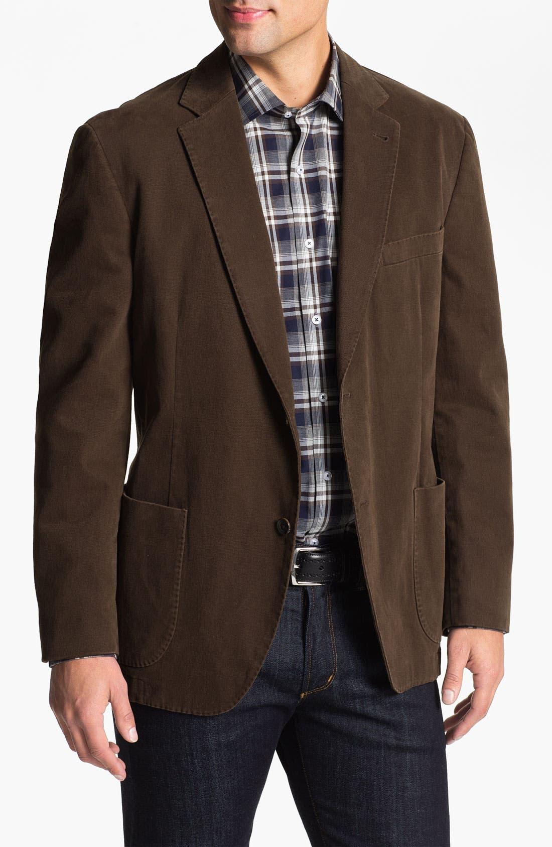 Alternate Image 1 Selected - Kroon Brushed Cotton Sportcoat