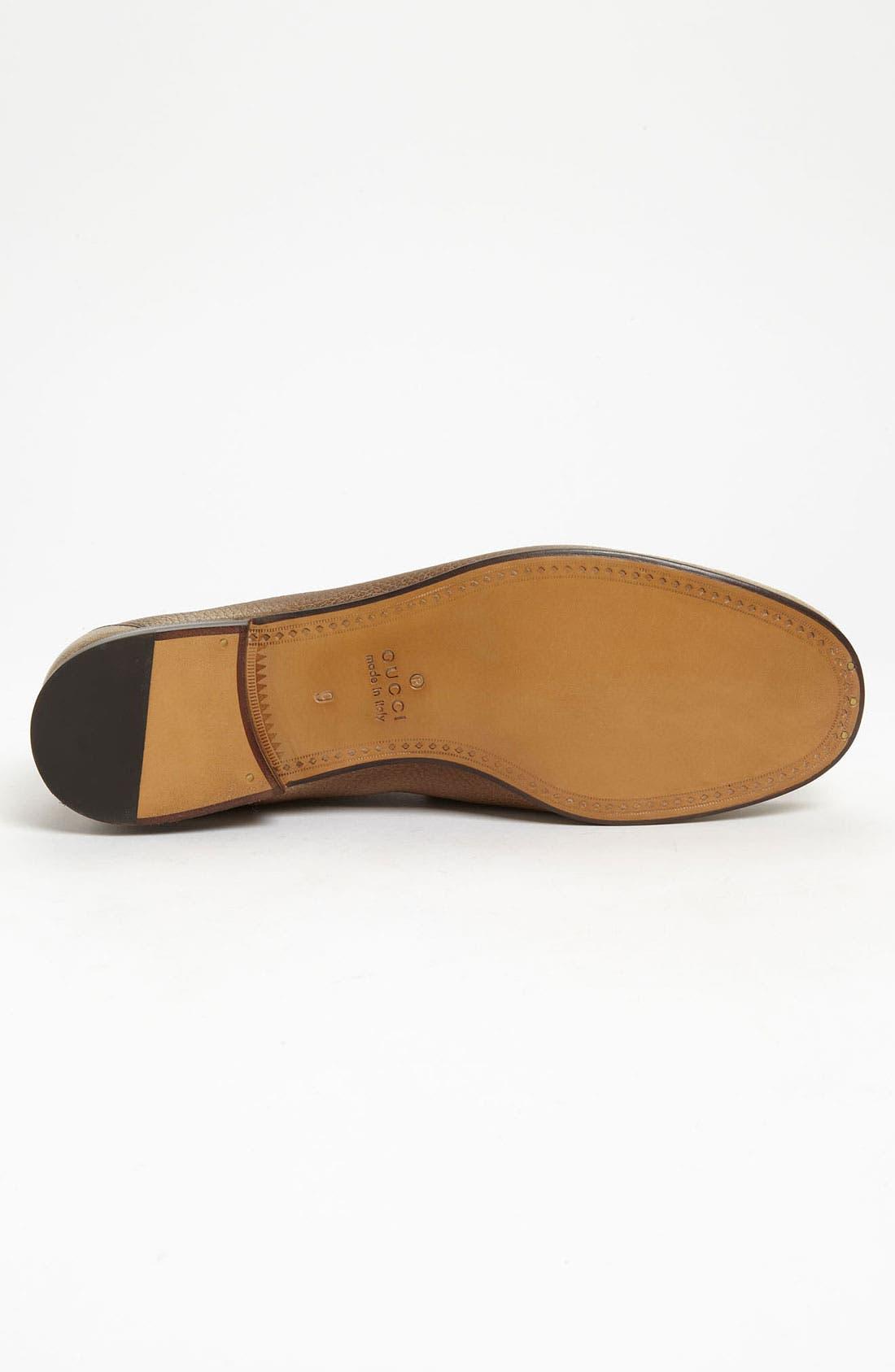 Alternate Image 4  - Gucci 'Roos' Bit Loafer