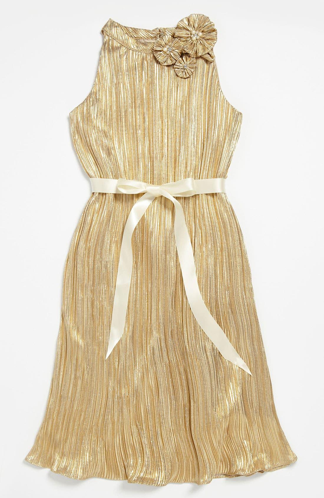 Main Image - BLUSH by Us Angels Trapeze Dress (Big Girls)