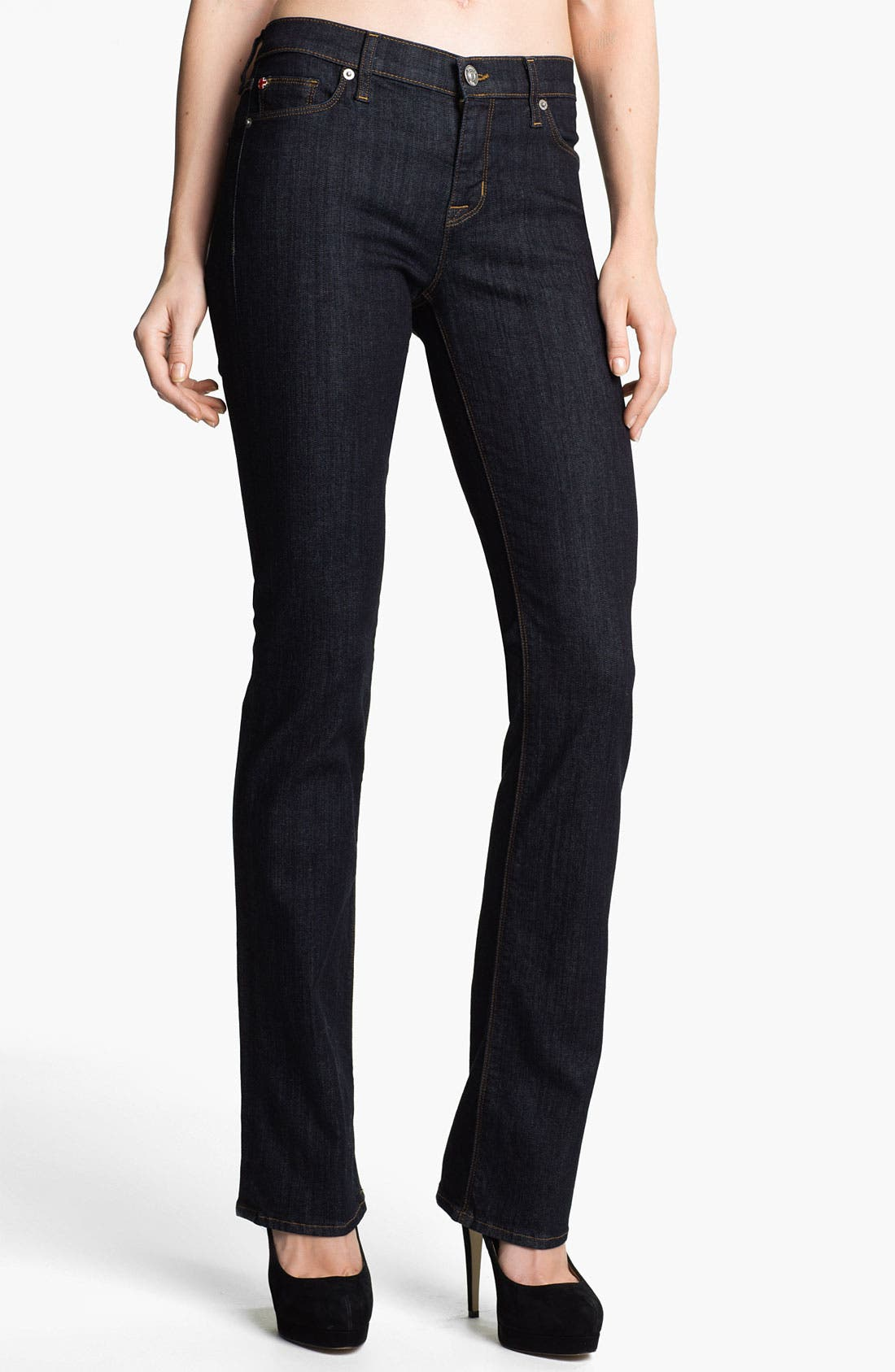 Alternate Image 1 Selected - Hudson Jeans 'Elle' Baby Bootcut Jeans (Foley)