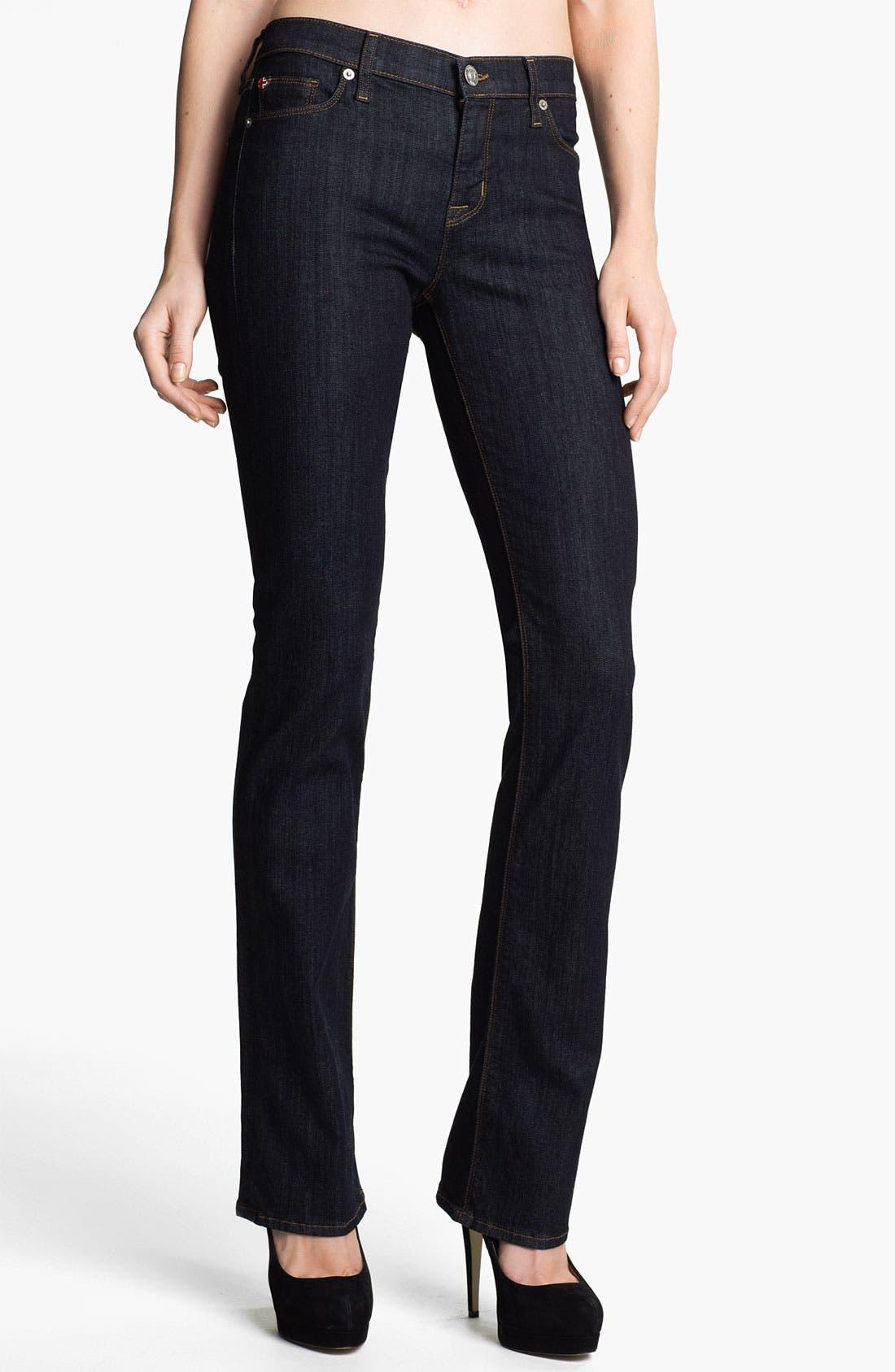 Main Image - Hudson Jeans 'Elle' Baby Bootcut Jeans (Foley)