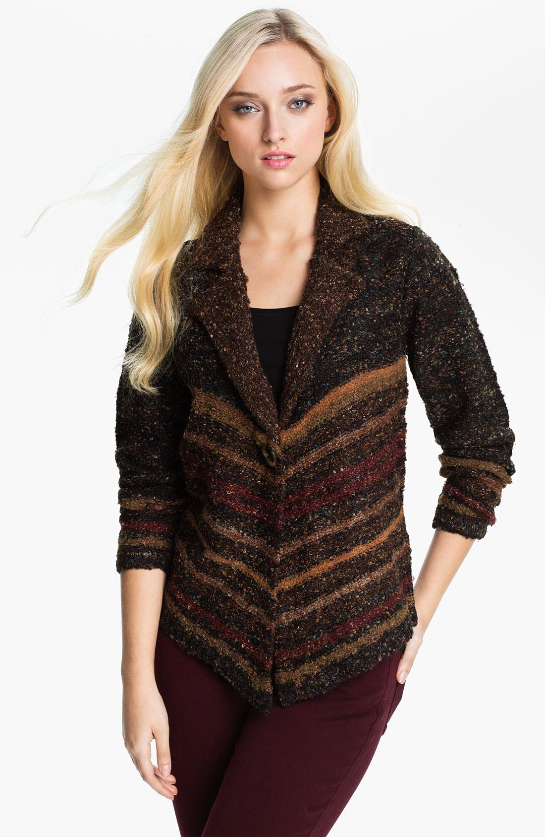 Alternate Image 1 Selected - Curio Notch Collar Cardigan