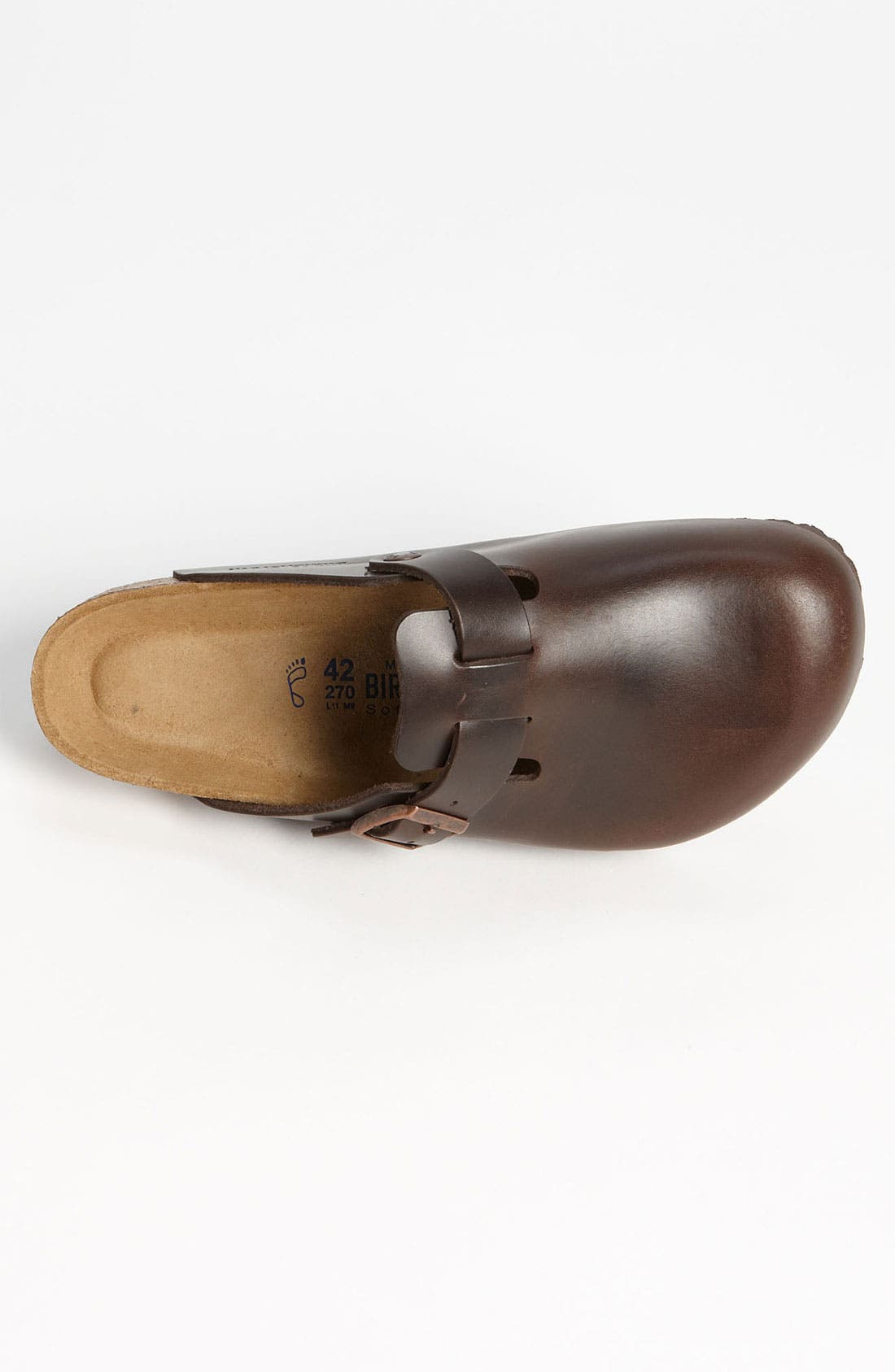 Alternate Image 3  - Birkenstock 'Boston Soft' Clog   (Men)