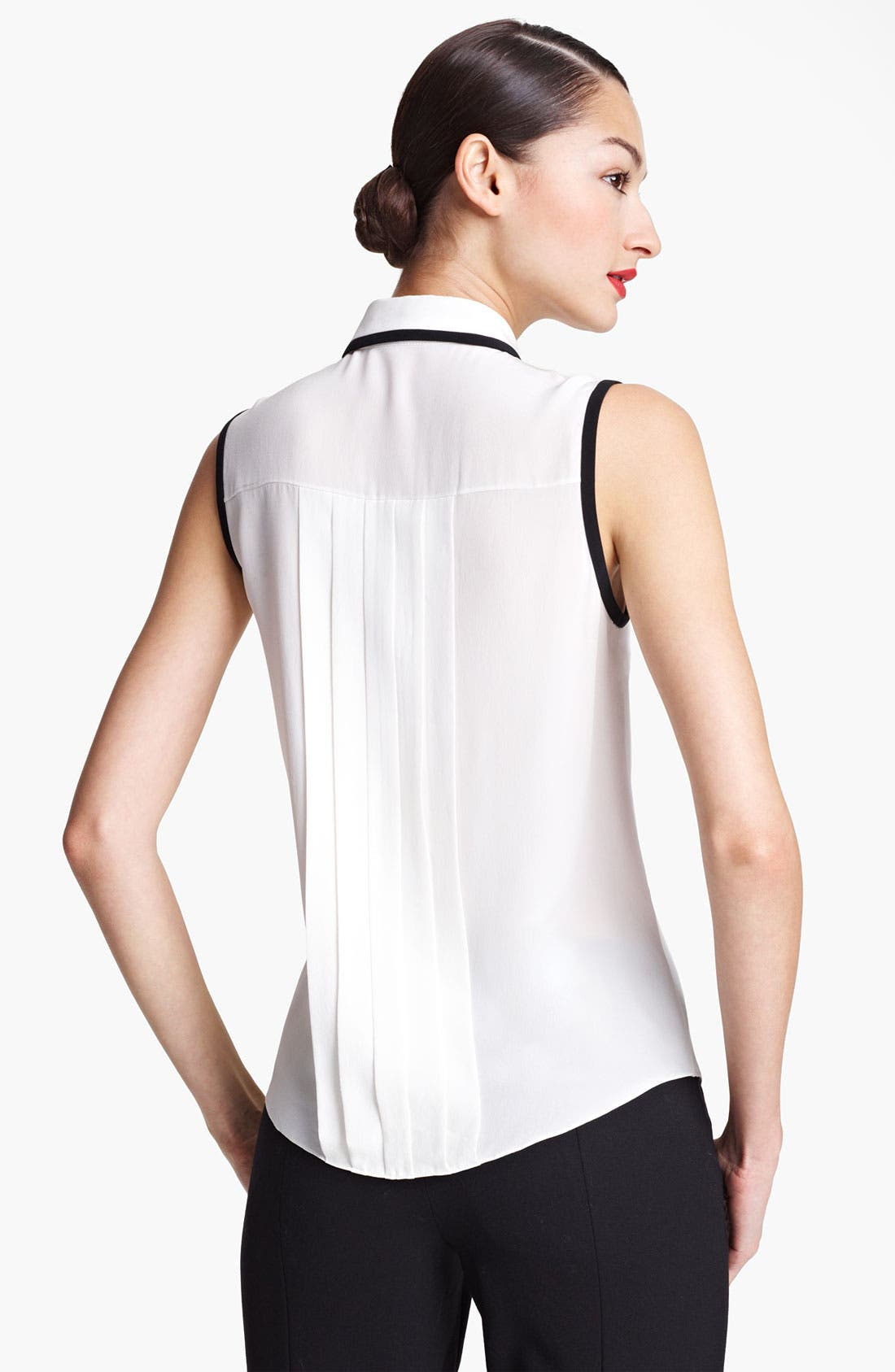 Alternate Image 2  - Jason Wu Sleeveless Silk Blouse