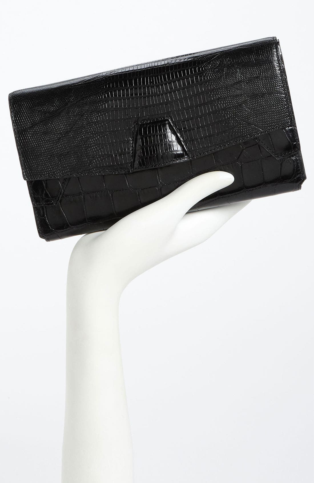 Alternate Image 2  - Alexander Wang Trifold Embossed Leather Clutch