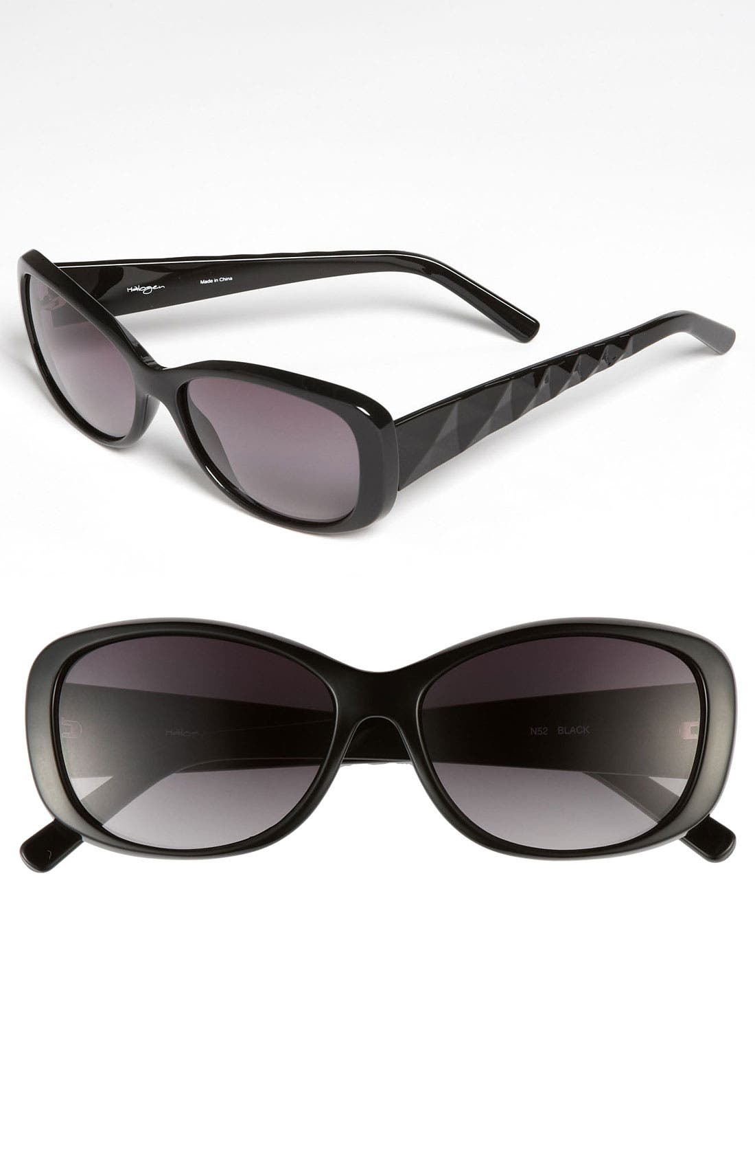 Alternate Image 1 Selected - Halogen® 70mm Retro Sunglasses