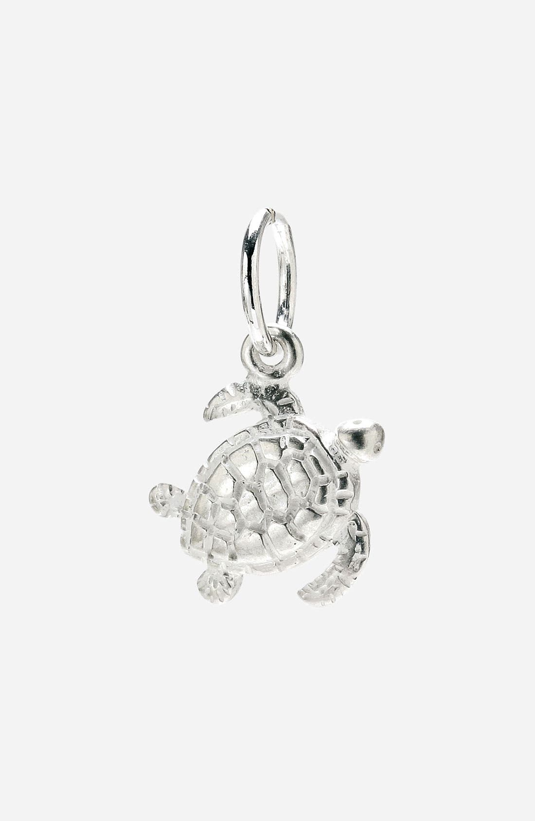 Main Image - Dogeared 'Create' Turtle Charm