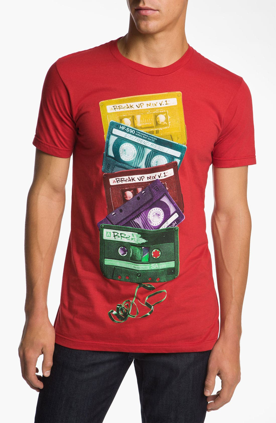 Alternate Image 1 Selected - RKBLK 'Mix Tape' T-Shirt