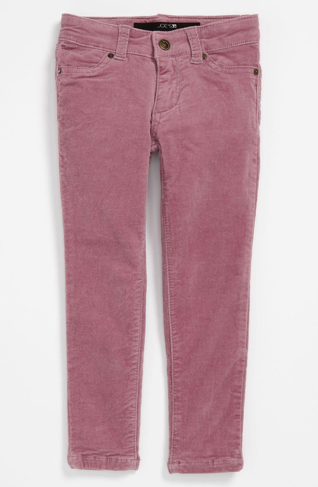 Alternate Image 2  - Joe's Solid Strech Velvet Denim Pants (Toddler)