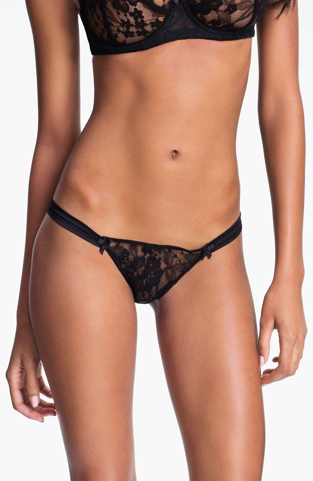 Alternate Image 1 Selected - Mimi Holliday 'Angelique Jet' Bikini