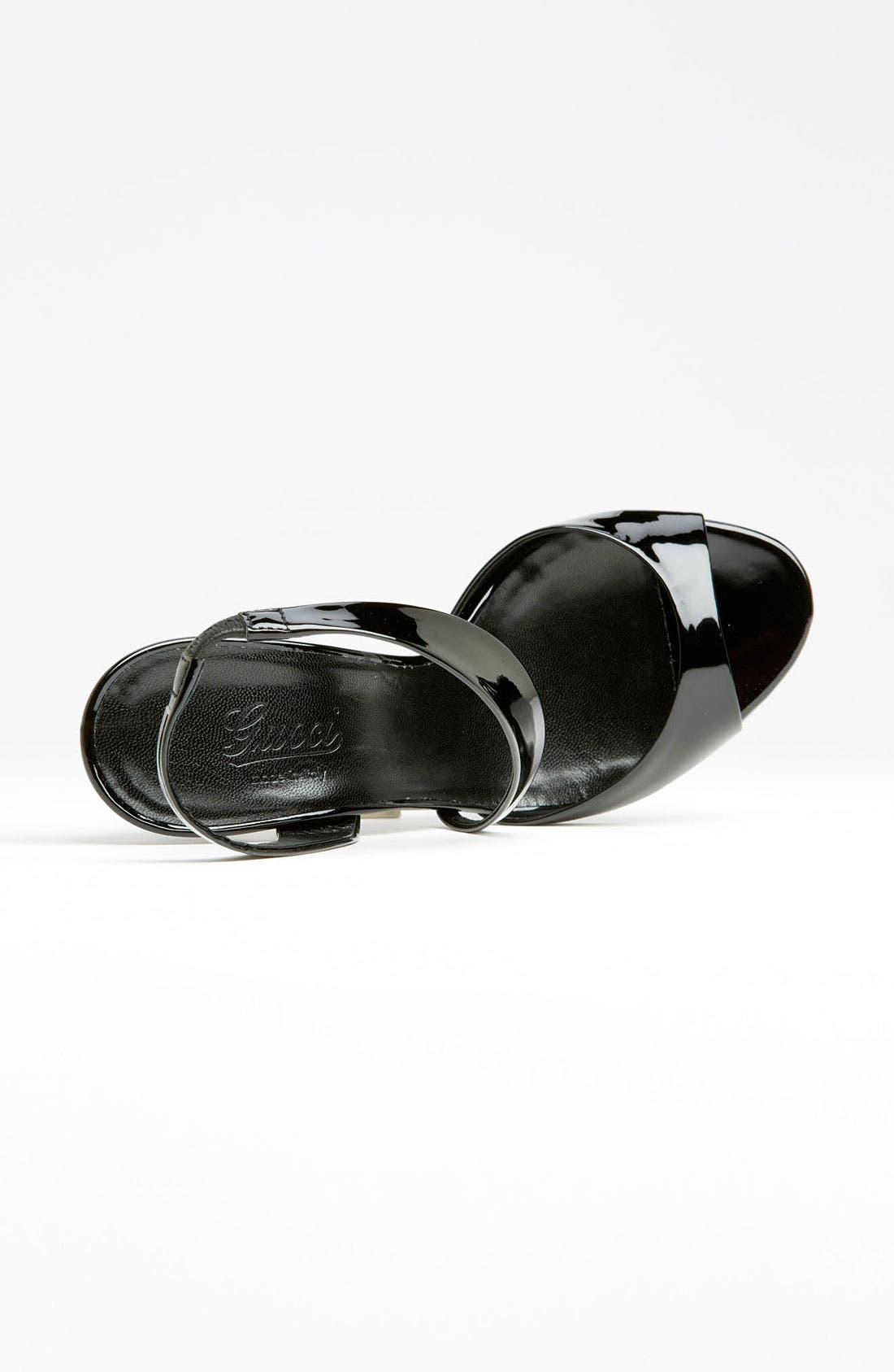 Alternate Image 3  - Gucci 'Linda' Bamboo Heel Sandal