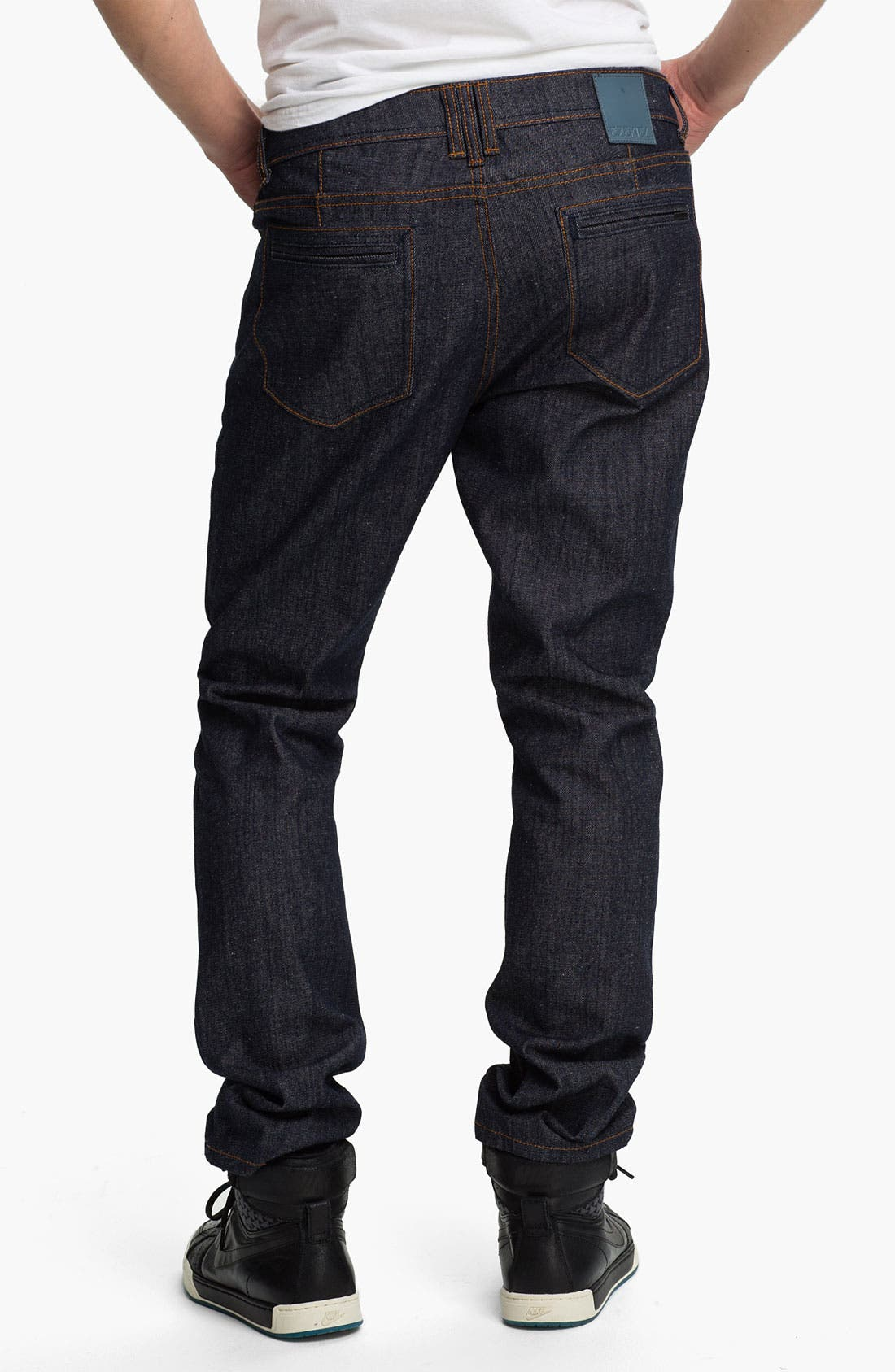 Main Image - Ezekiel 'Chopper 305' Slim Straight Leg Jeans (Raw Indigo)