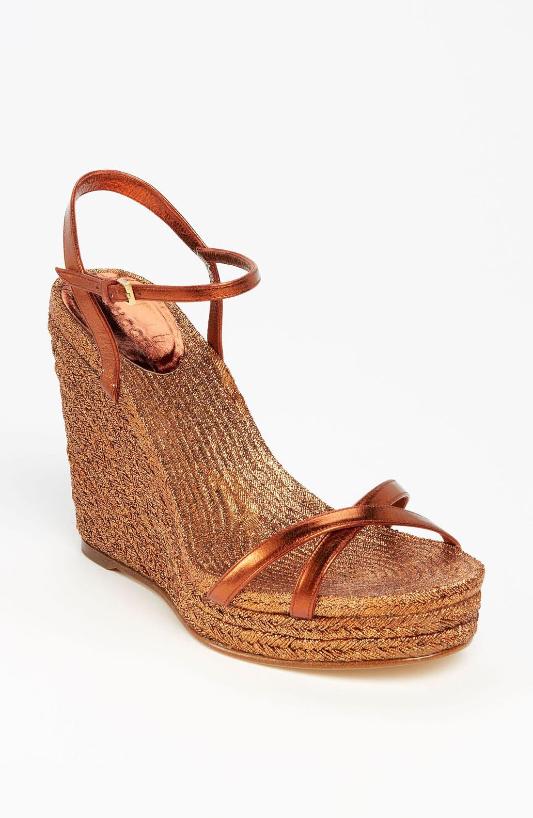 Main Image - Gucci 'Lia' Espadrille Sandal