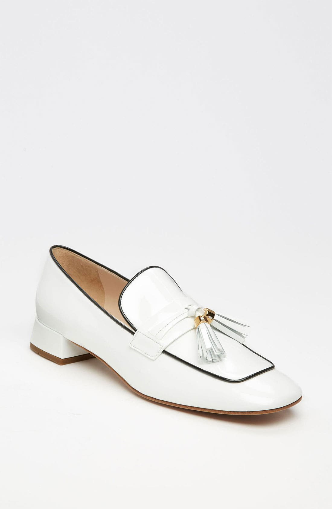 Alternate Image 1 Selected - Prada Tassel Loafer