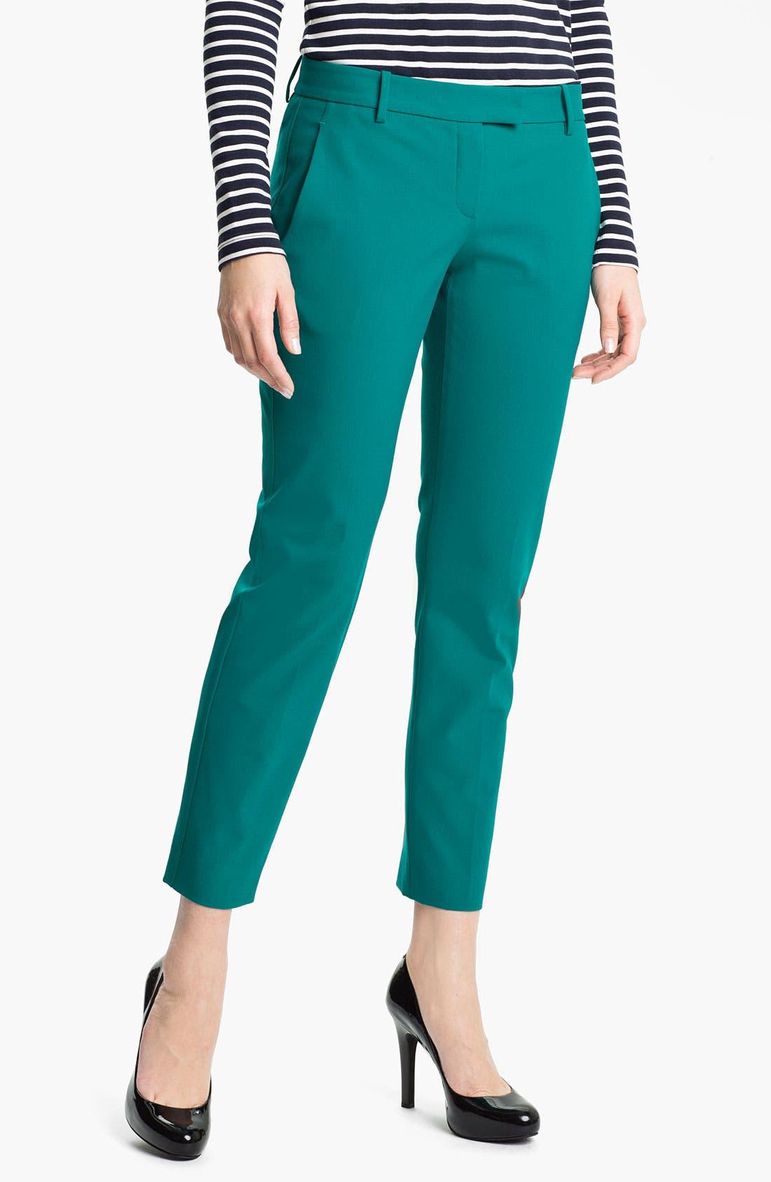 Alternate Image 1 Selected - Theory 'Sienna' Crop Pants