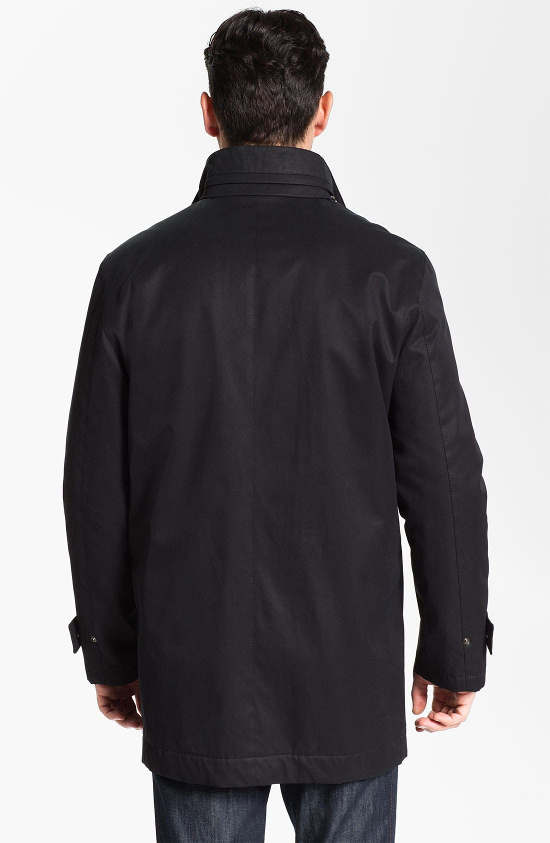 Alternate Image 2  - Salvatore Ferragamo Water Resistant Car Coat