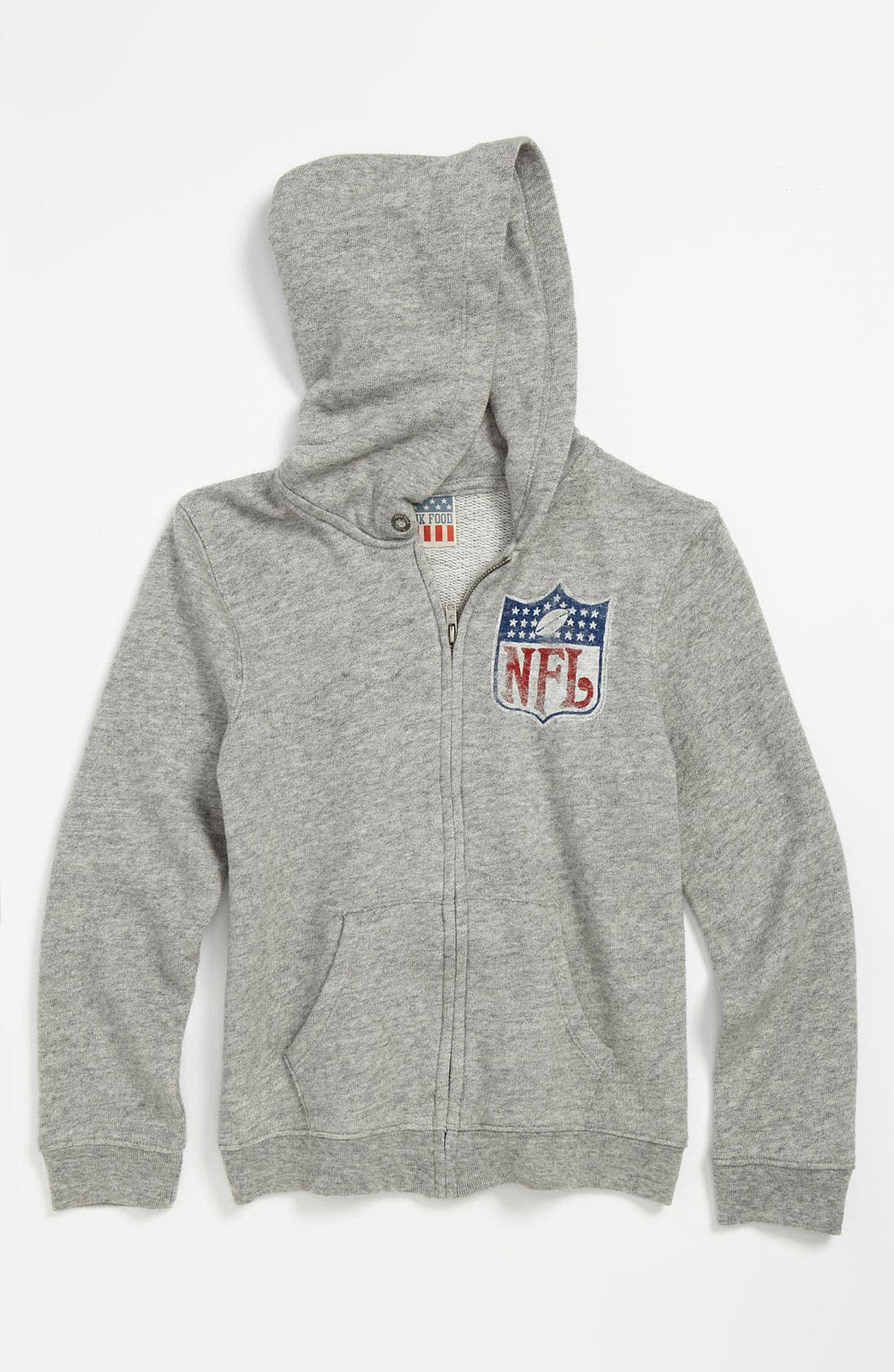 Alternate Image 1 Selected - Junk Food 'NFL Shield' Hoodie (Little Boys & Big Boys)