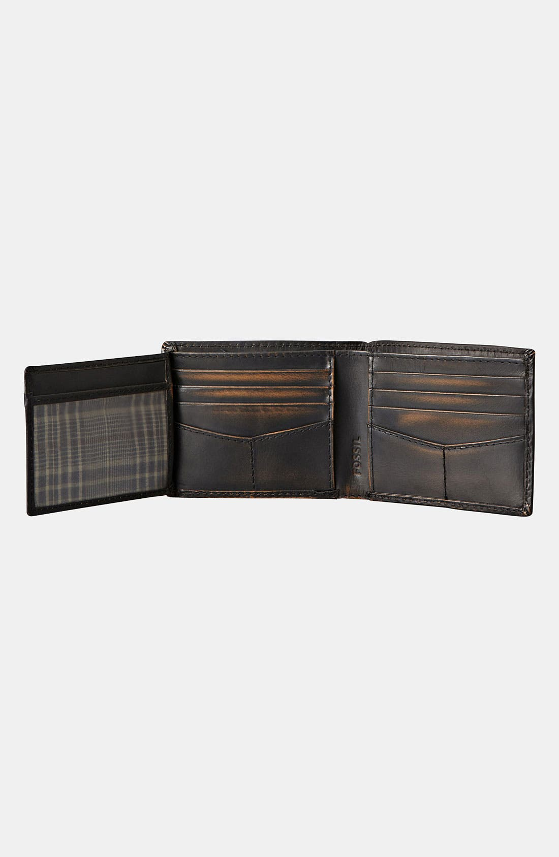 Alternate Image 3  - Fossil 'Carson' Traveler Wallet