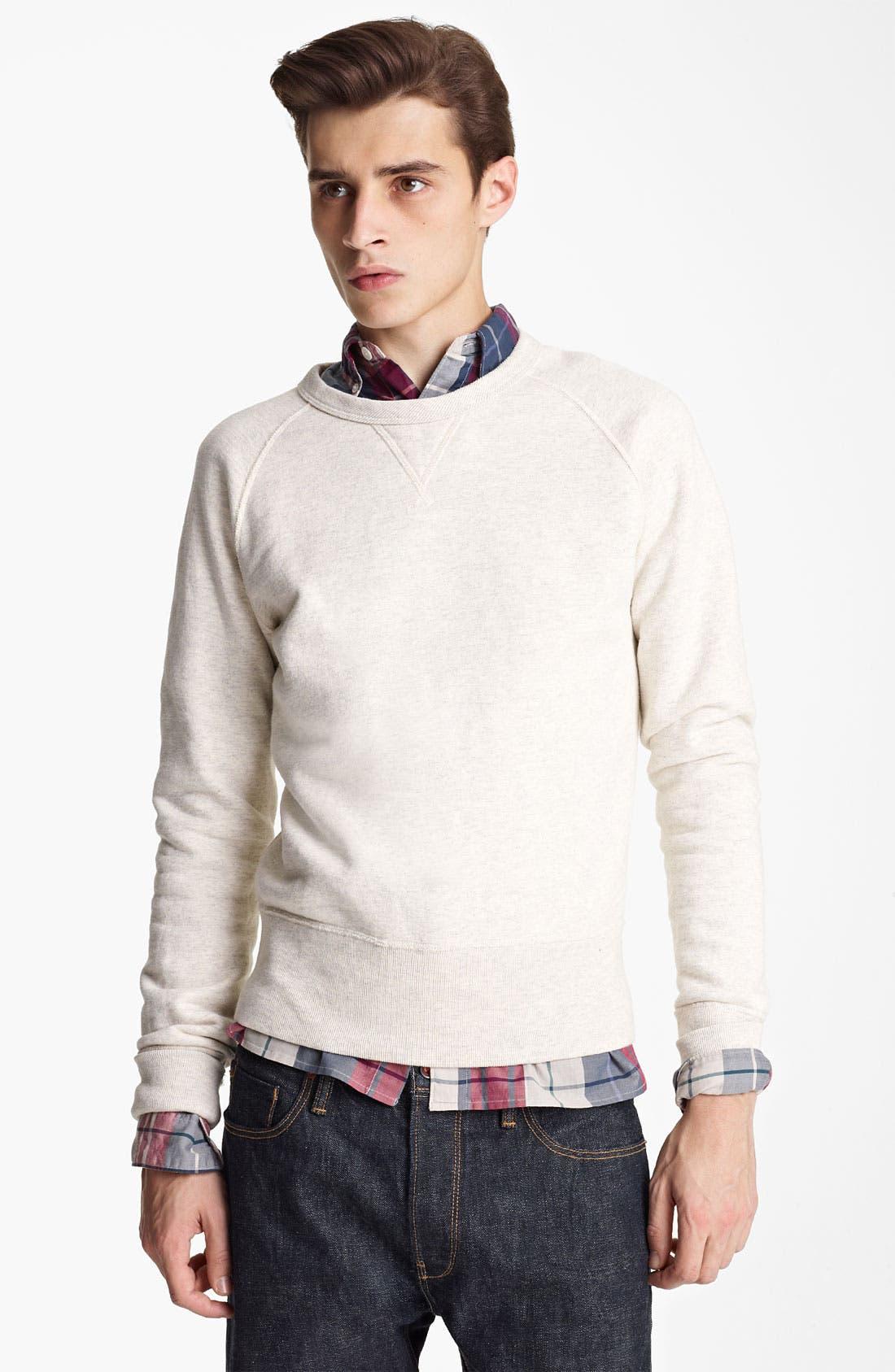 Alternate Image 1 Selected - Todd Snyder Crewneck Sweatshirt