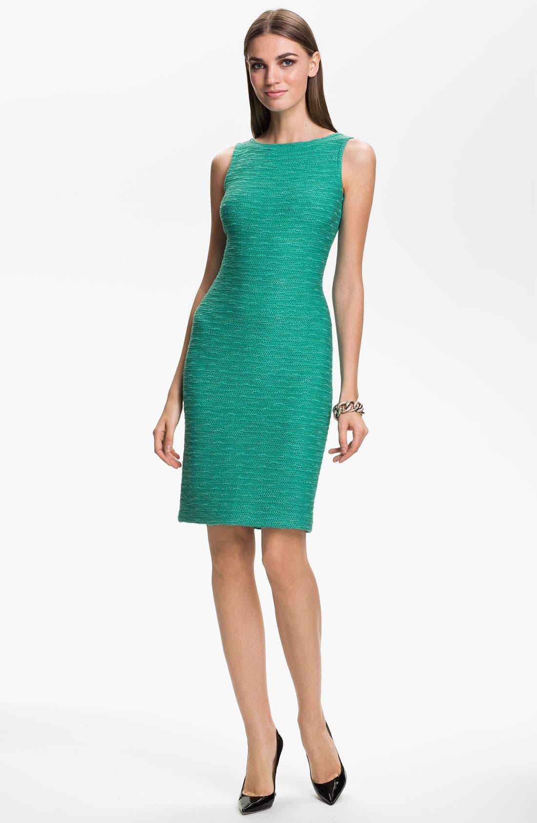 Alternate Image 1 Selected - St. John Collection 'New Shantung' Sheath Dress