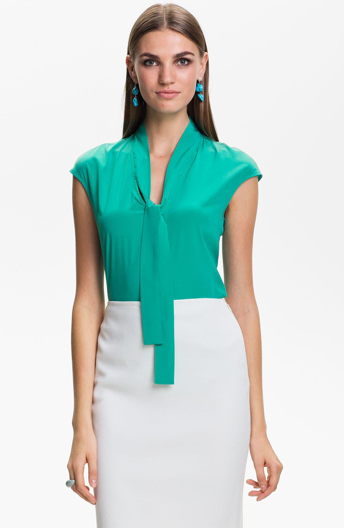 Main Image - St. John Collection Top & Skirt