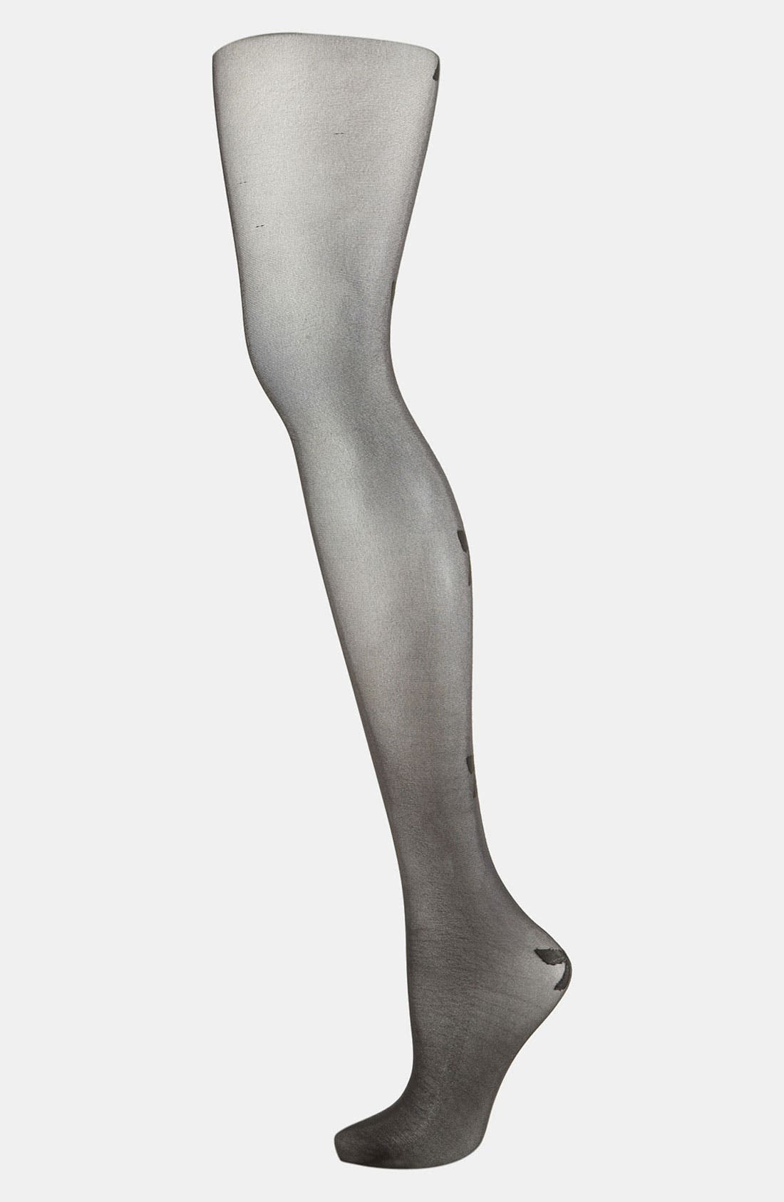Alternate Image 1 Selected - Topshop Seam Back Tights