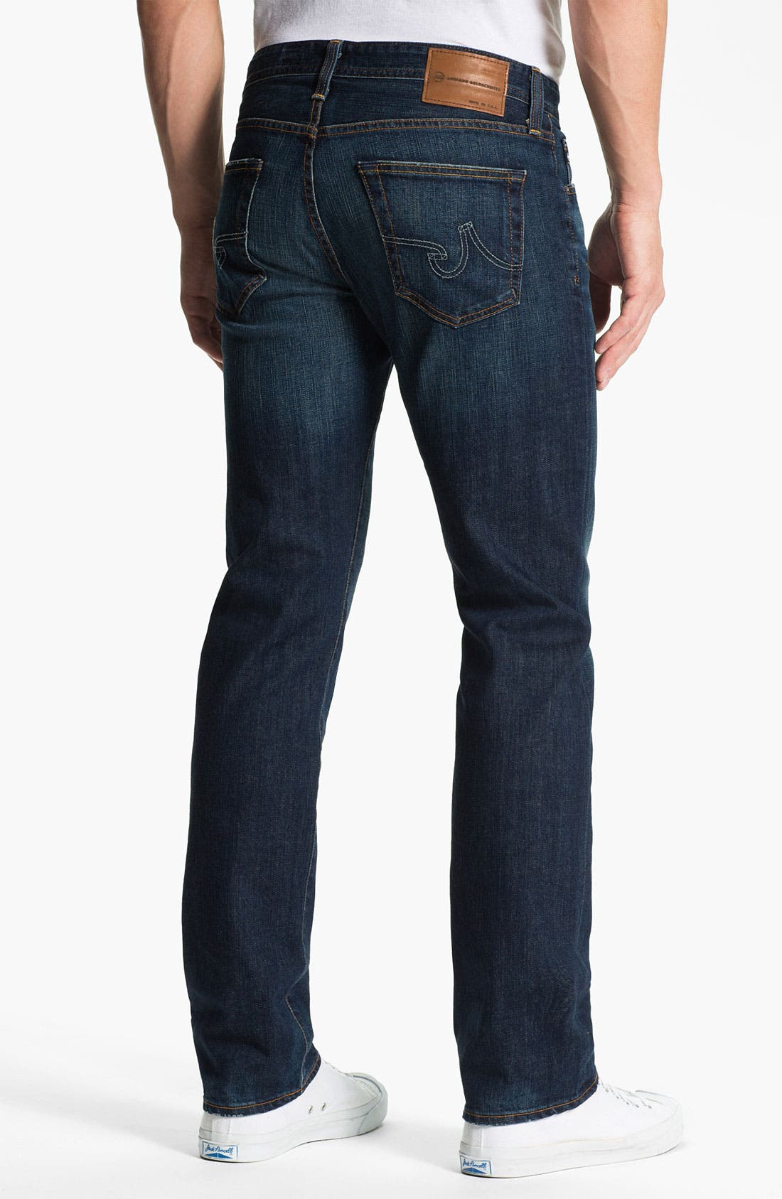 Alternate Image 2  - AG Jeans 'Matchbox' Slim Straight Leg Jeans (District)