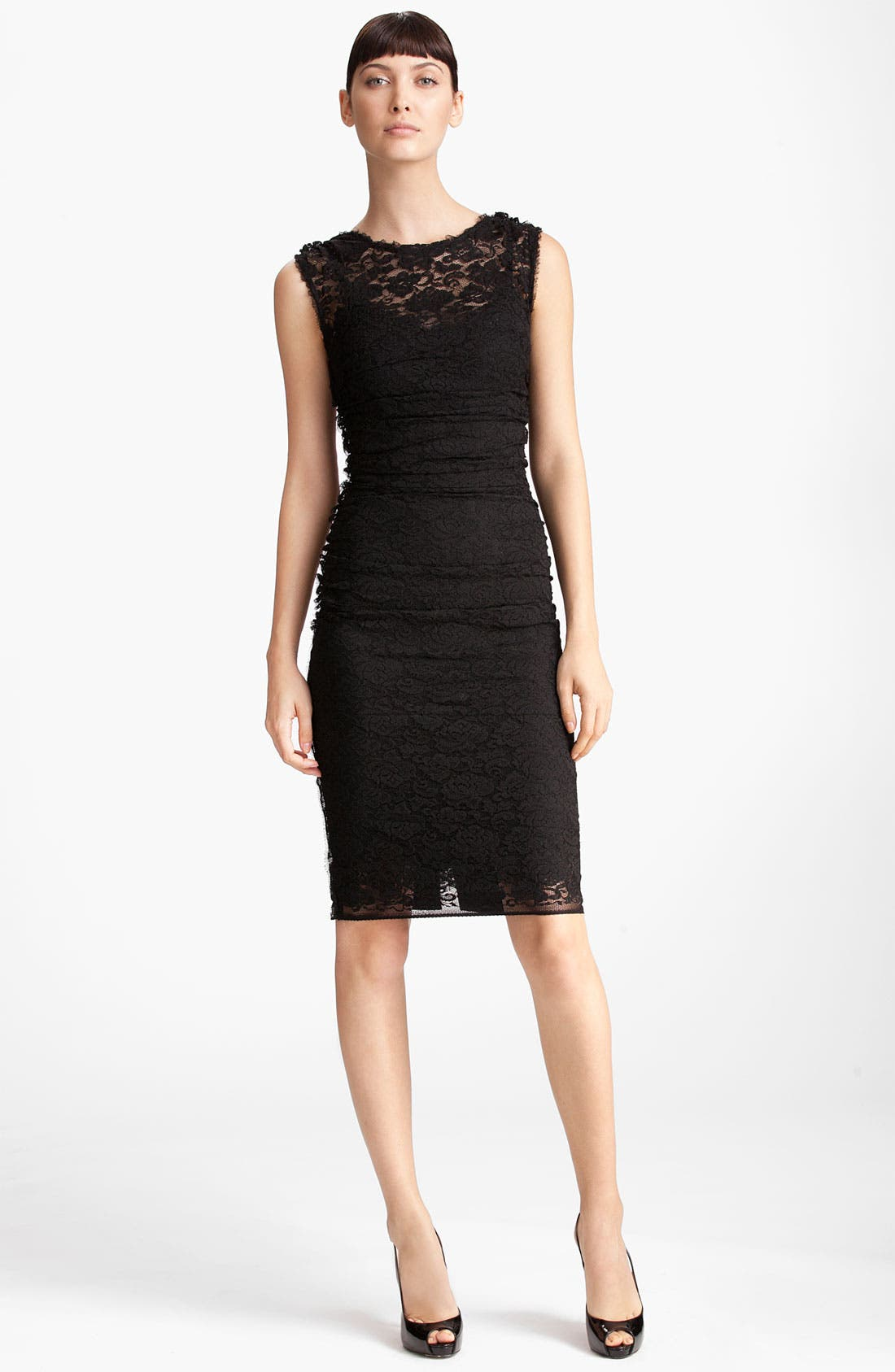 Alternate Image 1 Selected - Dolce&Gabbana Lace Mesh Dress