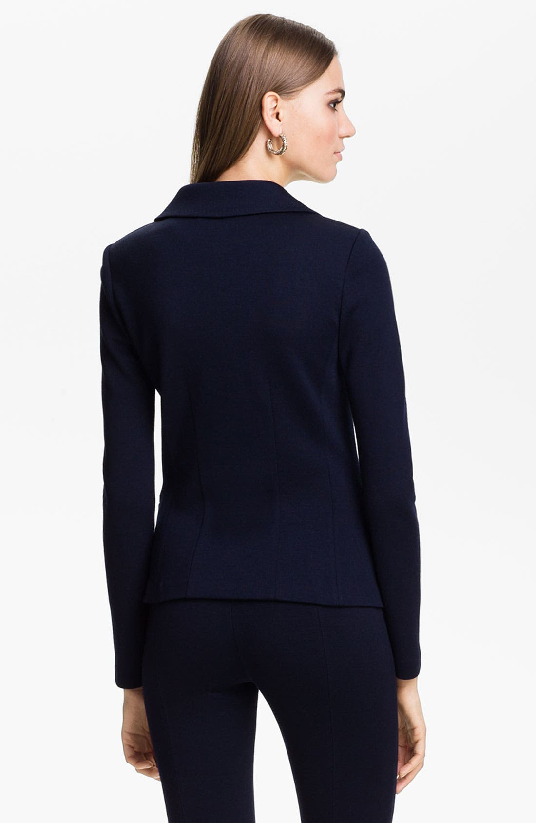 Alternate Image 3  - St. John Collection Double Breasted Milano Knit Jacket