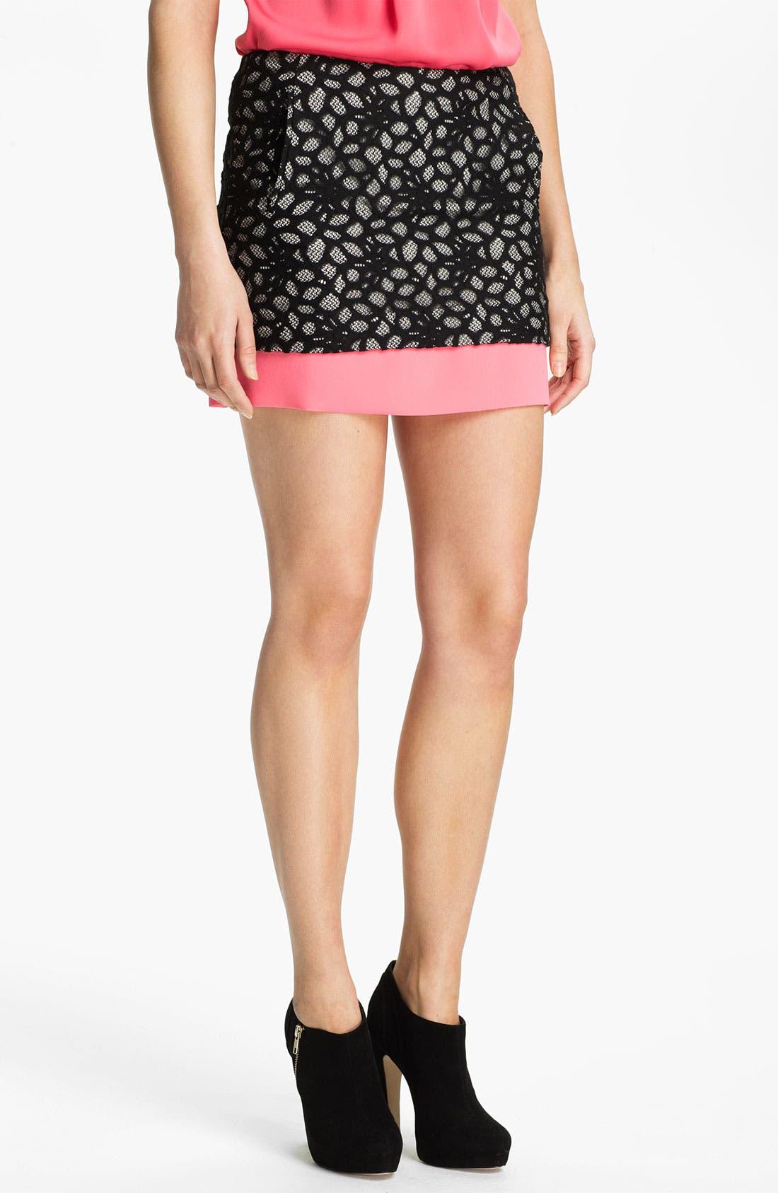 Alternate Image 1 Selected - Diane von Furstenberg 'Elley' Miniskirt