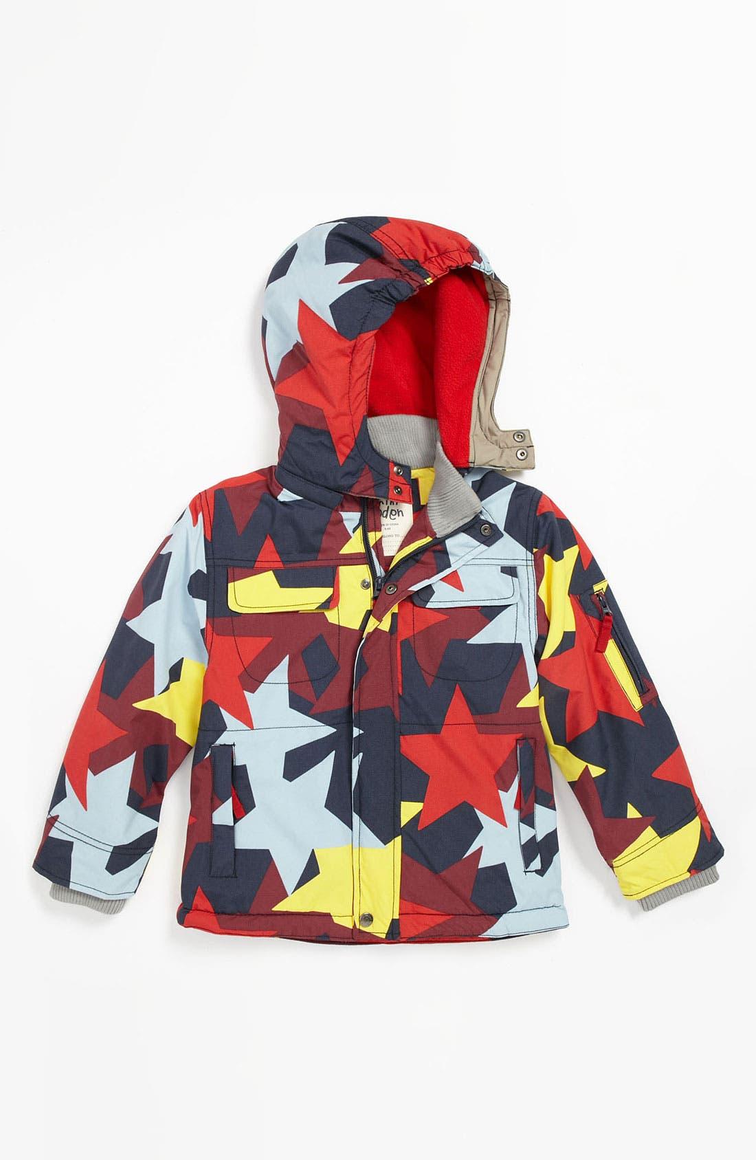 Main Image - Mini Boden 'Snowboard' Jacket (Little Boys & Big Boys)